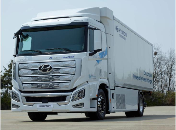 Hydrogen Fuel Truck-Hyundai XCIENT