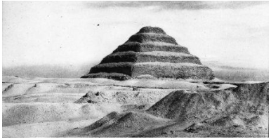 Old Image of Pyramid